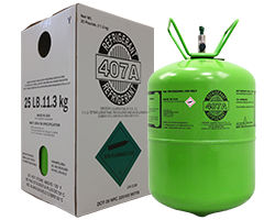 R407A Refrigerant 25 lb Cylinider with Packaging